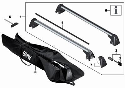 bmw 3 series roof rack installation